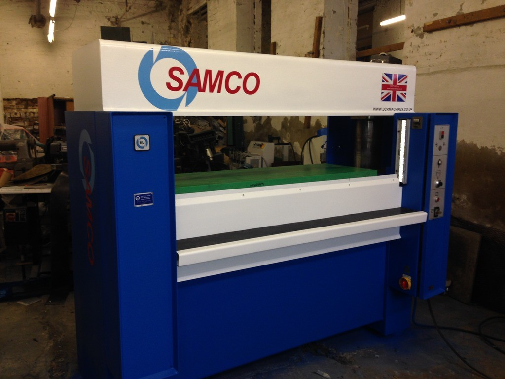 SAMCO 60 FIXED BEAM PRESS 60 TON PRESSURE CUTTING HEAD 1600X 600MM