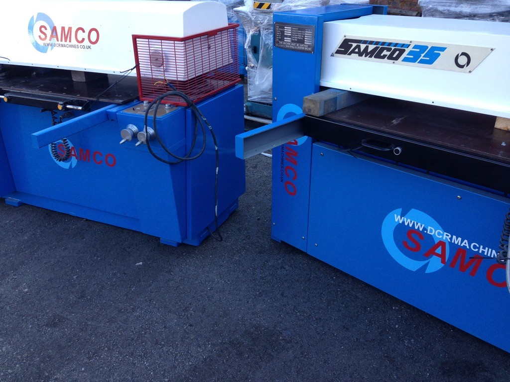 SAMCO SERIES 35 AND SERIES 60 BEAM PRESSES