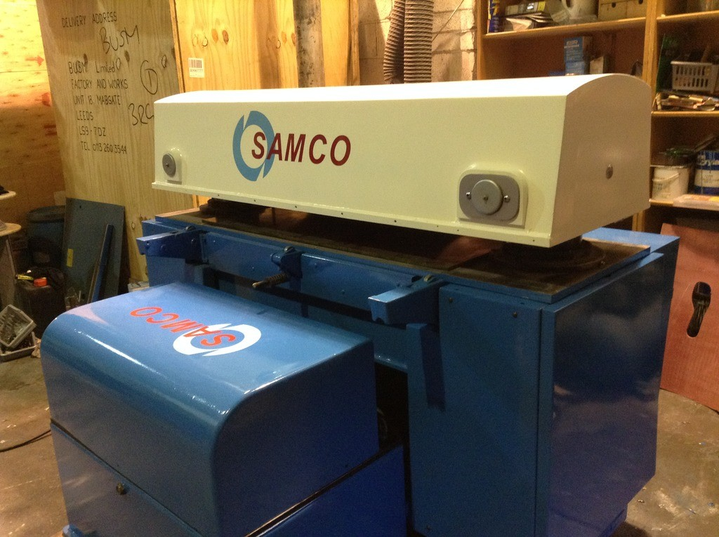 SAMCO SERIES 60 60 TON PRESSURE WITH FRONT TABLE  1600 X 1400