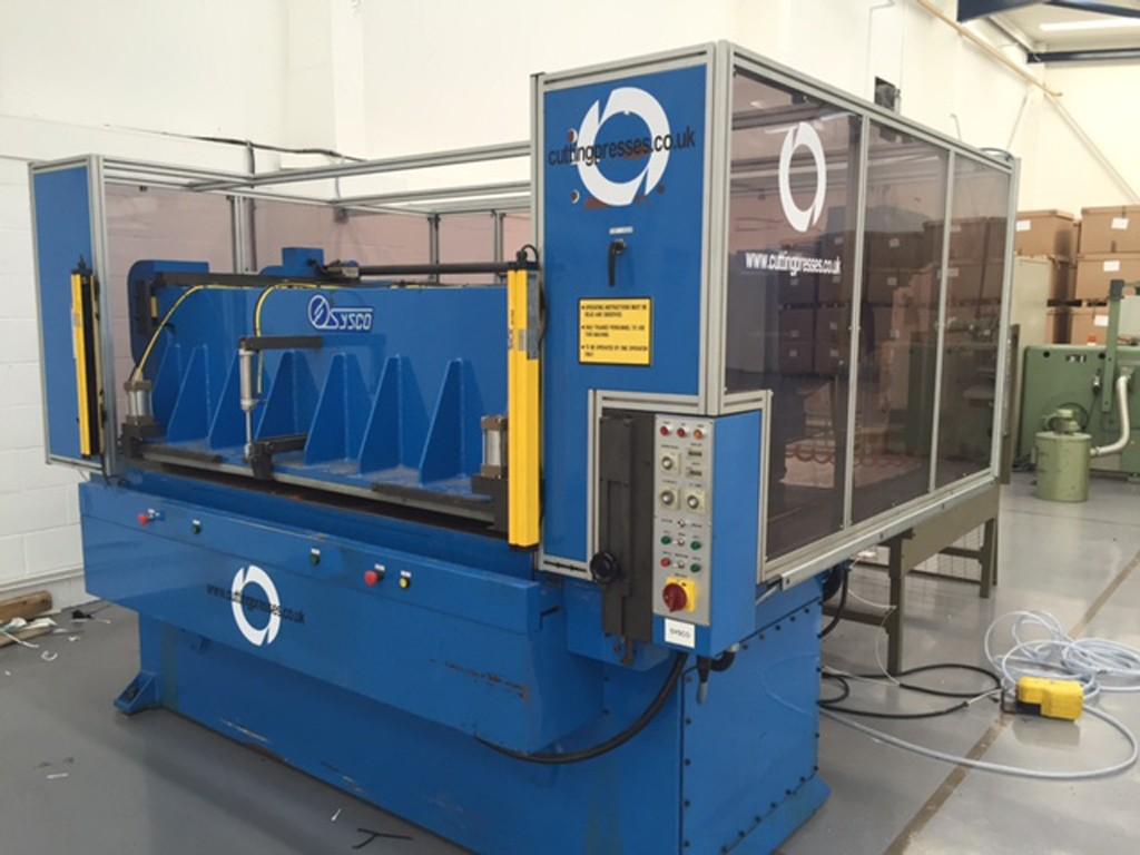 DCR SYSCO 80 ton receding beam, head width 2000mm X 1000mm